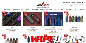 Vaporider Weekend Device Sale (AIO Kits & Pods)