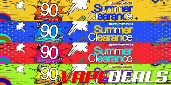 3fvape Summer 2020 Hardware Clearance Sale