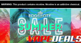 Ecig-City End of Summer 2020 Sale