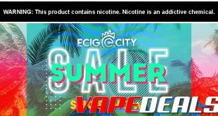 Ecig City Pre Black Friday Sale Coupon Code Vape Deals