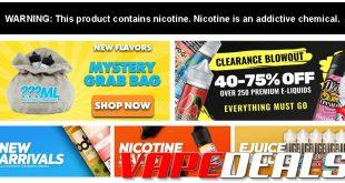 EjuiceDeals Weekend Sale (20% Off All E-liquid)