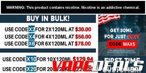 Freeman Vape Juice New Bulk E-liquid Discounts