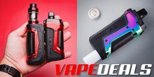 Aegis Boost Plus 18650 AIO Kit by Geekvape $21.74