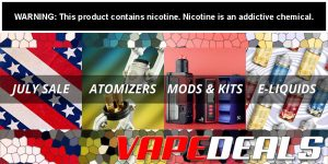 MyVPro July 2020 Hardware and E-liquid Sale