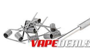 Vandy Vape Ni80 Triple Fused Claptons (25-pack) $7.45