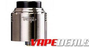 Vaperz Cloud Temple V2 RDA 25mm or 28mm $44.99+