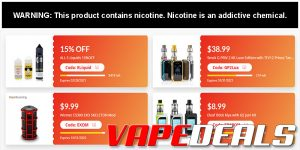 Vapesourcing Coupon Code Section Update