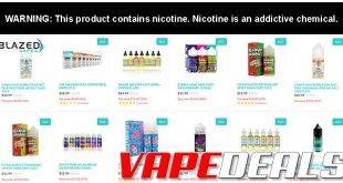 Blazed Vapes E-liquid BOGO Sale (Extended)