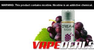 Dream E-liquid (50/50 MTL Blends) $3.75