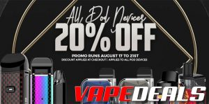 Pod System & AIO Sale (Extra 20% Off)