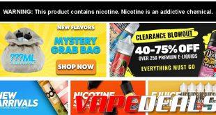 EjuiceDeals Weekend Sale (20% Off All E-liquid!)
