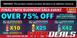 Fuggin Vapor Co. PMTA Blowout Sale Event