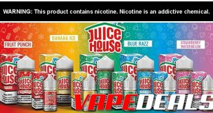 Juice House E-liquid 100mL (5 Flavors) $6.00
