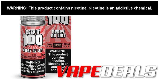 Keep it 100 E-liquid 100mL (10 Flavors) $7.65