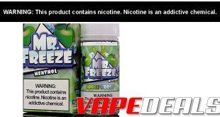 Mr Freeze E-liquid 100mL Clearance (7 Flavors) $6.30