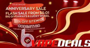 Sourcemore 6th Anniversary Sale