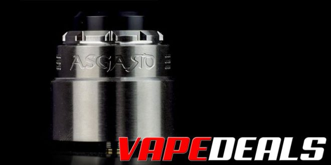 Vaperz Cloud Asgard 30mm RDA $46.75