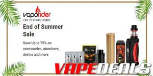 Vaporider End of Summer Sale (Up to 75% Off)