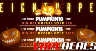 Eightvape Halloween 2020 Sale (New Coupon Codes)