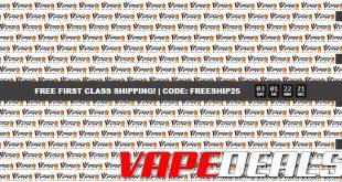 MyVPro Free Shipping Promo Extended (+ E-liquid Sale)