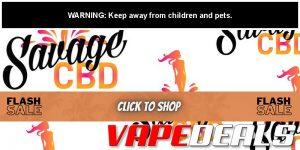 Savage CBD Fall 2020 Sitewide Sale