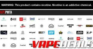 VapePMTA Website – Updated PMTA Info & Vendor List