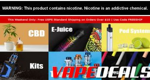 Vaporider Free Shipping Weekend is Back!
