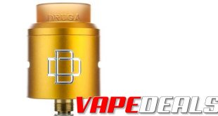 Augvape Druga RDA (Yellow Colorway) $5.40