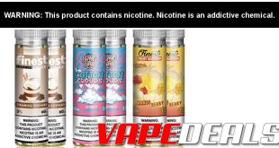 The Finest E-liquid Top Sellers Bundle (6x 60mL) $36.00