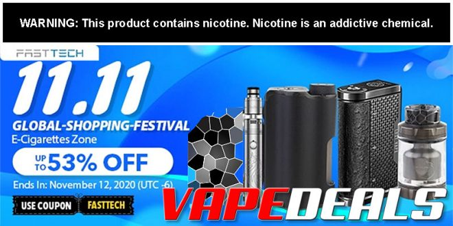 Fasttech 11.11 2020 Hardware Sale (Up to 53% Off)