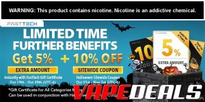 Fasttech Early Bird Halloween Gift Card Sale