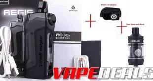 Geekvape Zeus Nano, Boost Plus Kit, 510 Adapter $40.49