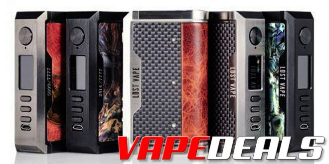 Lost Vape Centaurus DNA250C Box Mod (USA) $98.60