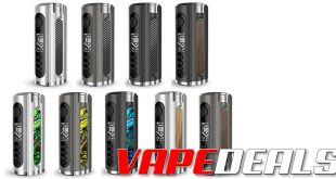 Lost Vape Grus 21700 100W Box Mod (USA) $27.00