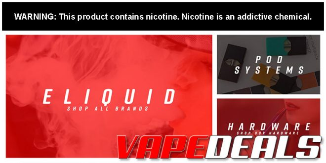 CheapEjuice, UVD, & EjuiceDeals Black Friday Sale