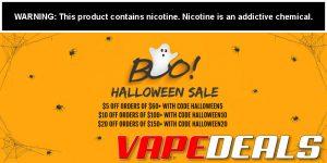 Vaporider Halloween 2020 Sitewide Sale