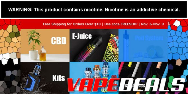 Vaporider Free Shipping Promo is Back Again!
