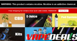 Vaporider Free Shipping Promo is Back (Today Only)!