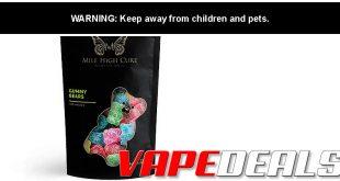 Mile High Cure Full Spectrum CBD Gummies $8.10