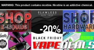 FlawlessVapeShop Black Friday 2020 Sale