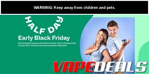 Half Day CBD Pre-Black Friday 2020 Sale