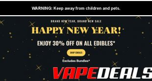 Pure Relief New Year's Sale (Extra 30% Off Edibles)