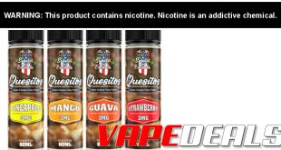 Quesitos eJuice Full Review – A Salsa in Your Mouth