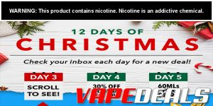 12 Days of Christmas: $8.99 Salt E Liquids!