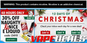 Breazy: 30% Off Naughty & Nice E-liquid