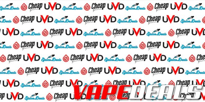 EjuiceDeals, CheapEjuice, UVD Flash Sale (35% Off)
