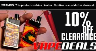Vapesourcing Clearance Sale (Extra 10% Off)