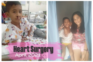 Abounding in Love Helps James get Heart Surgery