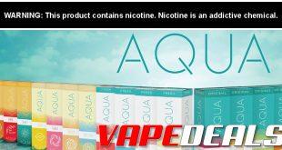 Aqua E-liquid 60mL E-liquid (20% Off)