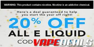 Breazy E-liquid Sale: Extra 20% Off Every Flavor!